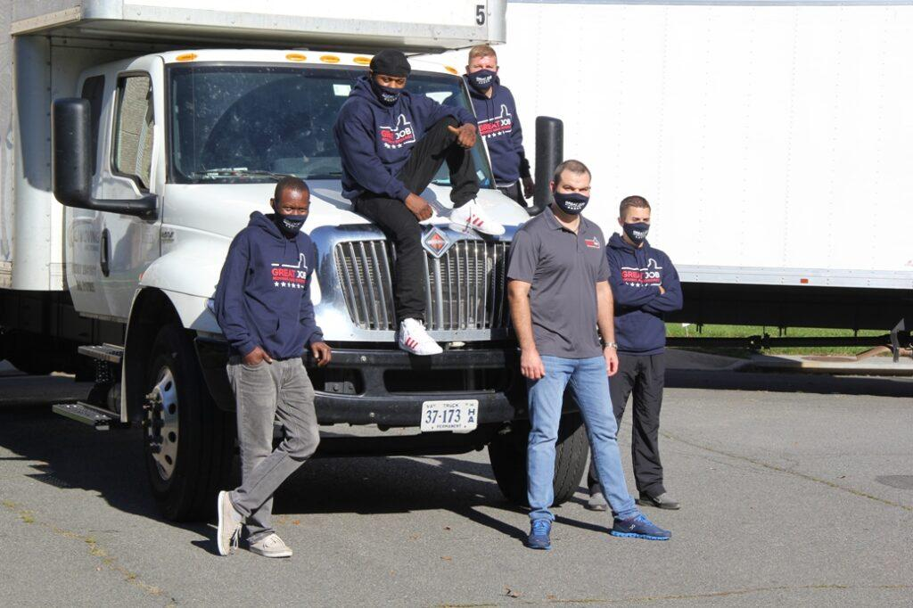 Local movers from G&J Moving